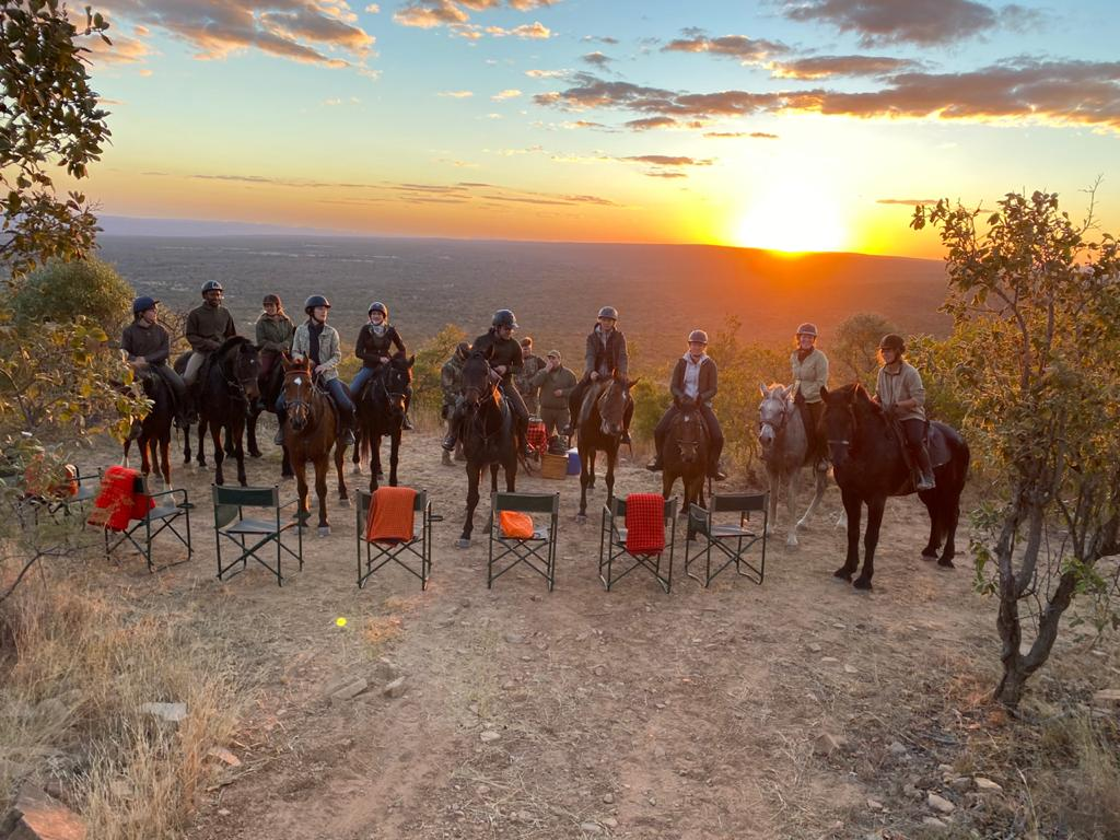 game census safari, Riding South Africa, Waterberg game reserve, wildlife conservation